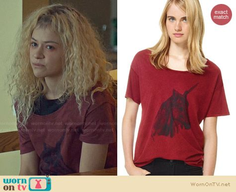 Talula Mott T-Shirt worn by Tatiana Maslany on Orphan Black