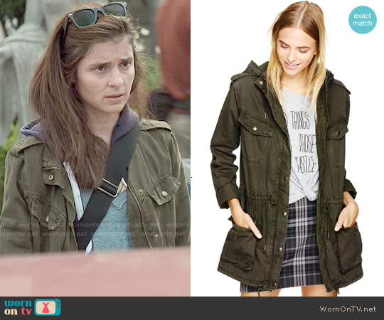 Talula Trooper Jacket worn by Shiri Appleby on UnReal