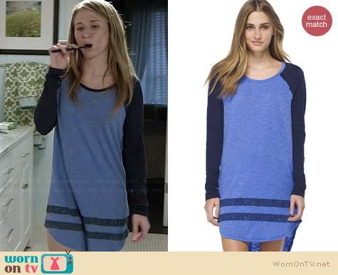 Xhilaration Blue Sleep Shirt worn by Rita Volk on Faking It