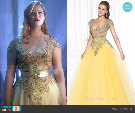 Tarik Ediz Alloy Dress #92578 worn by Sasha Pieterse on PLL