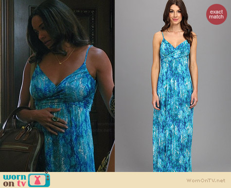 Tart Beth Maxi Dress worn by Rochelle Aytes on Mistresses