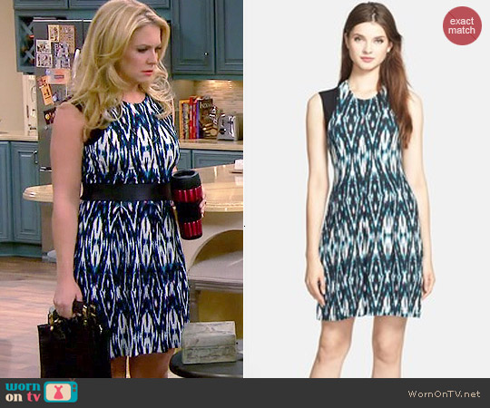 Tart Kaydence Ikat Dress worn by Melissa Joan Hart on Melissa & Joey