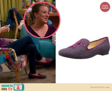 TBBT Fashion: Cole Haan Sabrina Tassel Loafers worn by Kaley Cuoco
