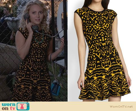 TCD Fashion: Torn by Ronny Kobo Malu Dress worn by Carrie Bradshaw