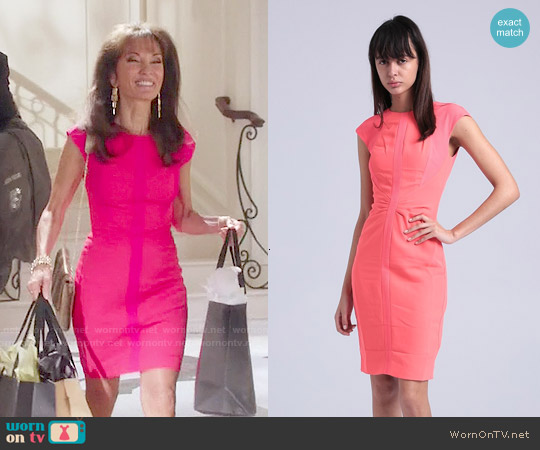 Ted Baker Acerola Dress worn by Susan Lucci on Devious Maids