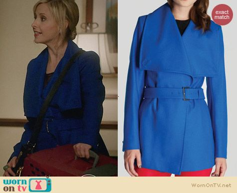 Ted Baker Adalya Coat worn by Sarah Michelle Gellar on The Crazy Ones