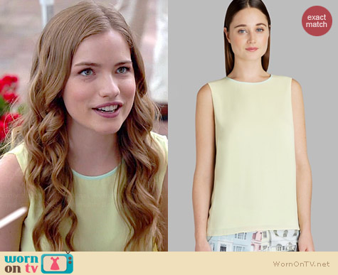 Ted Baker Alys Top worn by Willa Fitzgerald on Royal Pains