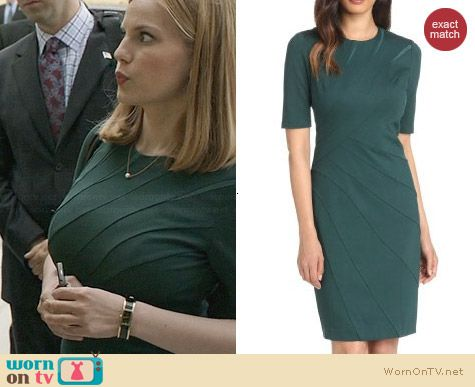 Ted Baker Corie Dress worn by Anna Chlumsky on Veep