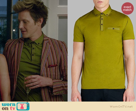 Ted Baker Grainyo Polo Shirt worn by Gabrielle Mann on Revenge