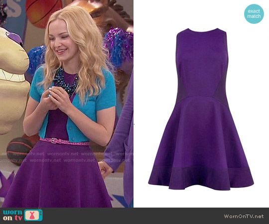 Ted Baker Hearn Dress worn by Dove Cameron on Liv & Maddie