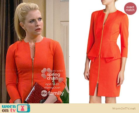 Ted Baker Jamtye Dress worn by Melissa Joan Hart on Melissa & Joey
