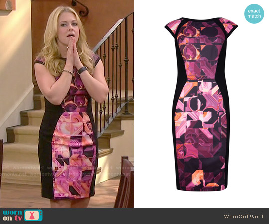 Ted Baker Jasmaii Dress worn by Melissa Joan Hart on Melissa & Joey
