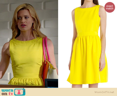 Ted Baker Juletee Dress worn by Brooke D'Orsay on Royal Pains