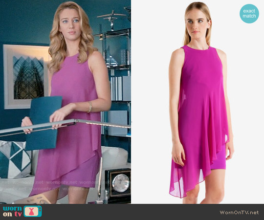 Ted Baker Locie Dress worn by Yael Grobglas on Jane the Virgin