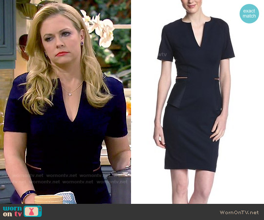 Ted Baker 'Maddiye' Peplum Dress worn by Melissa Joan Hart on Melissa & Joey
