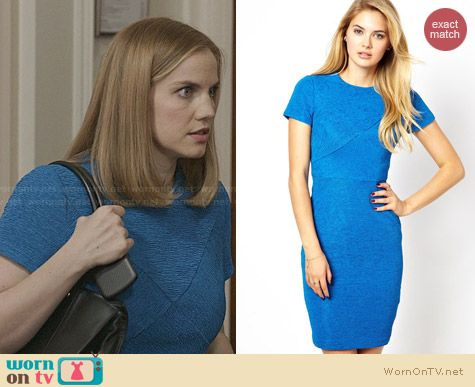 Ted Baker Nefeli Body Con dress worn by Anna Chlumsky on Veep