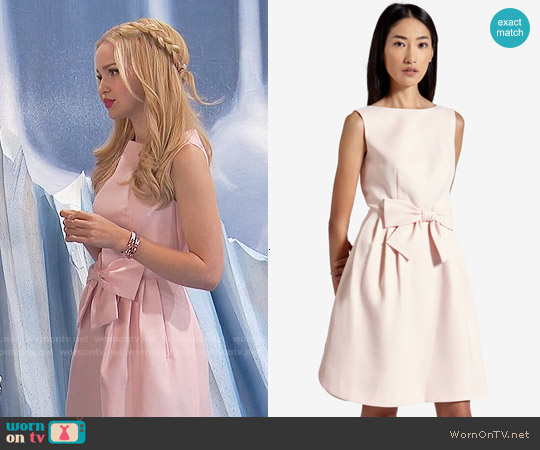 Ted Baker Nuhad Bow Dress worn by Dove Cameron on Liv & Maddie