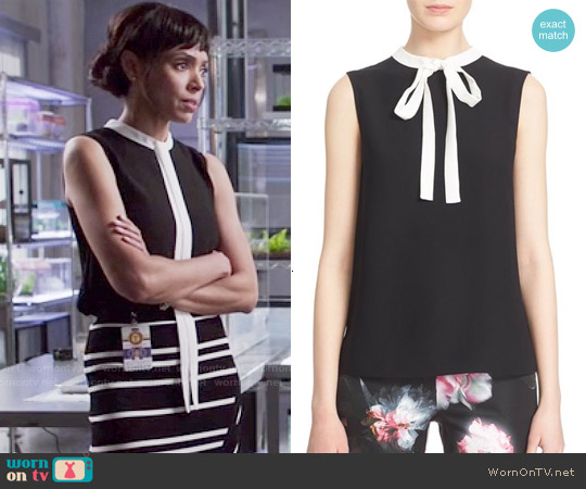 Ted Baker 'Olia' Top worn by Tamara Taylor on Bones