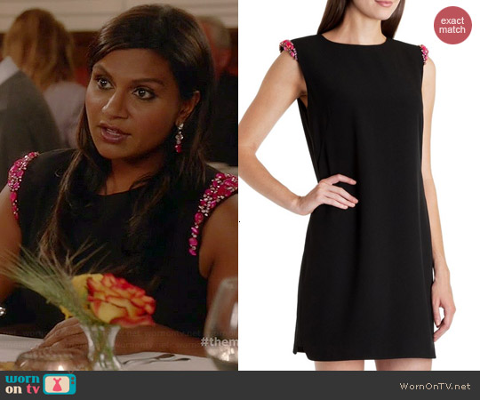 Ted Baker Reevah Dress worn by Mindy Kaling on The Mindy Project