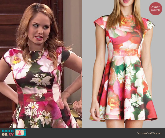 Ted Baker Roziey Dress worn by Debby Ryan on Jessie