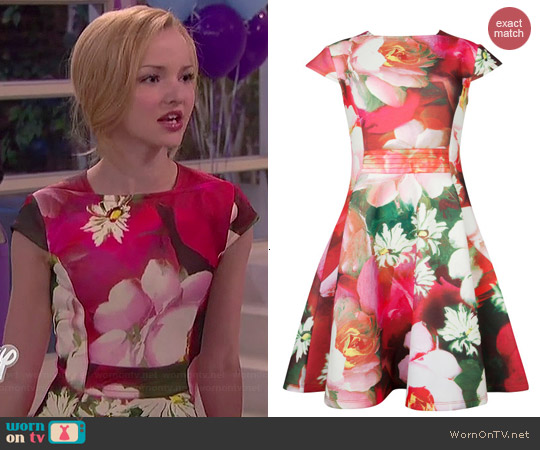Ted Baker Roziey Dress worn by Dove Cameron on Liv & Maddie