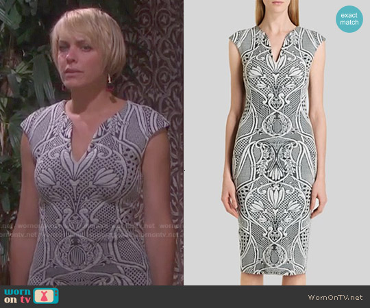 Ted Baker Sancha Dress worn by Arianne Zucker on Days of our Lives