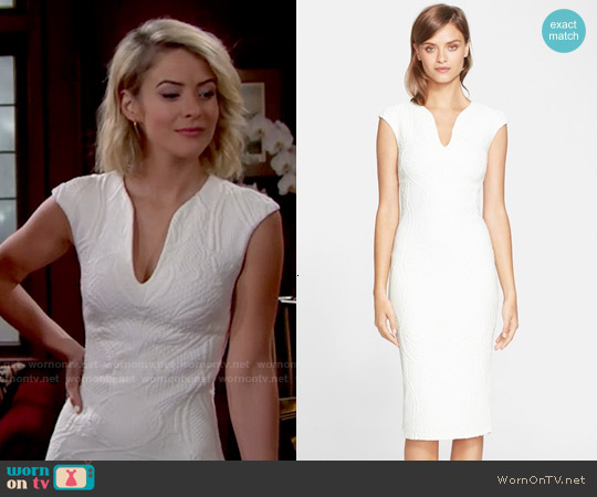 Ted Baker Sancha Dress worn by Linsey Godfrey on The Bold & the Beautiful