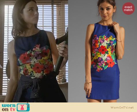Teen Wolf Fashion: Bec & Bridge Bouquet Backless Dress worn by Crystal Reed