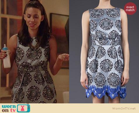 Thakoon Addition Embroidered Daisy Dress worn by Jade Catta-Preta on Manhattan Love Story