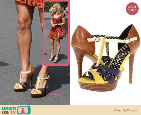 The Carrie Diaries Shoes: Jessica Simpson Bentley Sandals worn by AnnaSophia Robb
