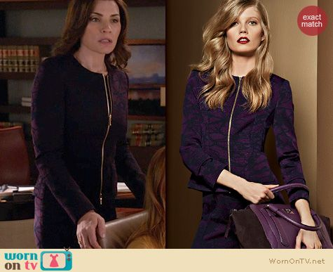 The Good Wife Fashion: Escada Fall 2013 Collection worn by Julianna Margulies