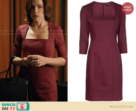 The Good Wife Fashion: The Row Gammner dress worn by Julianna Margulies