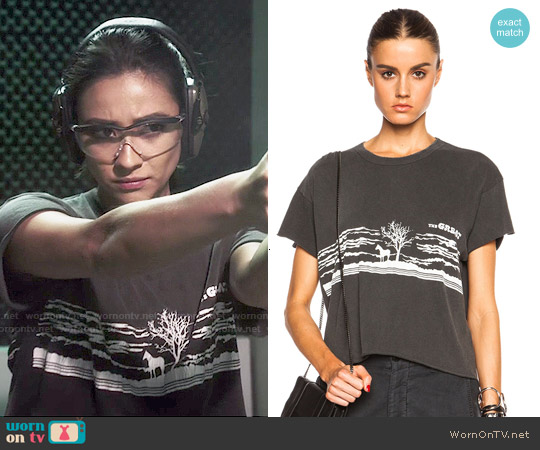 The Great The Old West Tee worn by Shay Mitchell on PLL