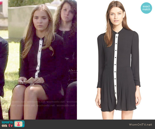 The Kooples Portfolio Dress worn by Lennon Stella on Nashville