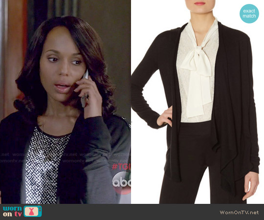 The Limited Epaulet Cardigan worn by Olivia Pope on Scandal