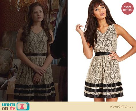 The Originals Fashion: Kensie Lace V-Neck A-Line Dress worn by Danielle Campbell