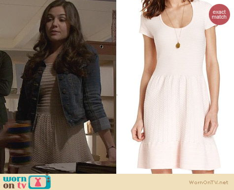 The Originals Fashion: Maison Jules Textured Knit Dress worn by Danielle Campbell