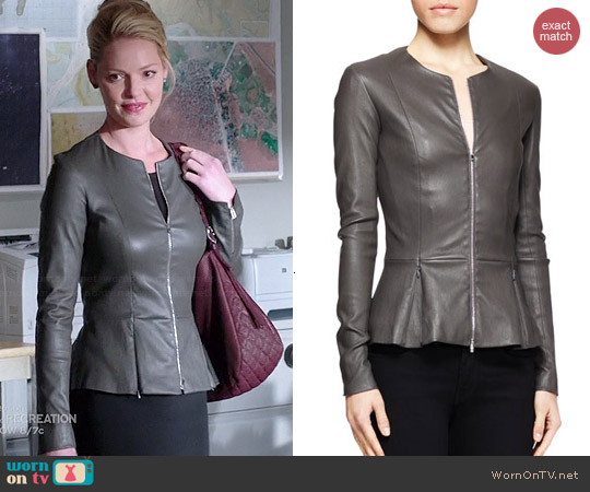 The Row Anasta Jacket worn by Katherine Heigl on State of Affairs