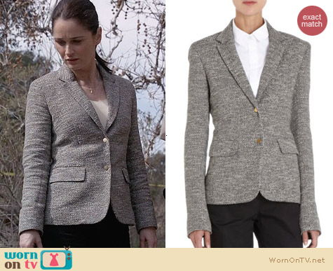 The Row Nordin Jacket worn by Robin Tunney on The Mentalist