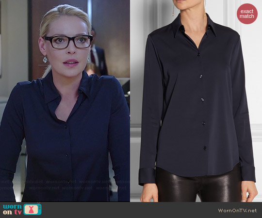 The Row Peter Blouse worn by Katherine Heigl on State of Affairs