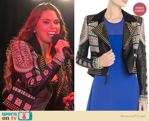 The Vineyard Fashion: BCBG MAx Azria Ossie Jacket worn by Sophi Alvarez