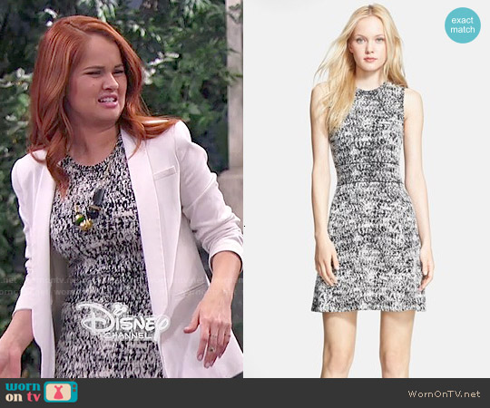 Theory Alancy Dress worn by Debby Ryan on Jessie