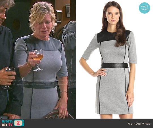 Theory Calvino Elmore Dress worn by Mary Beth Evans on Days of our Lives
