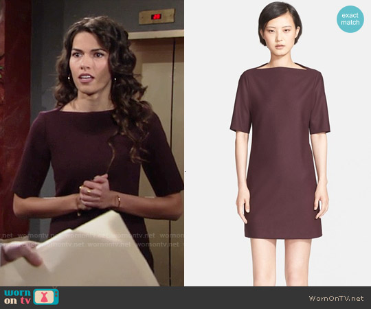 Theory Harkin Dress worn by Sofia Pernas on The Young & the Restless