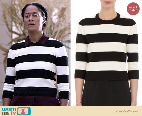 Theory Harmona Sweater worn by Tracy Ellis Ross on Black-ish
