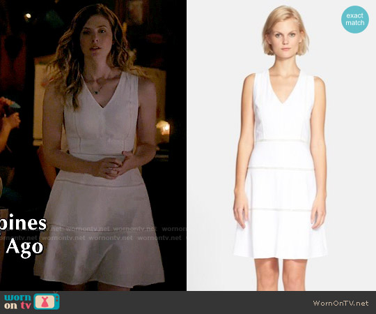 Theory 'Jemion' Dress worn by Elizabeth Blackmore on The Vampire Diaries