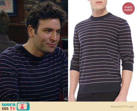Theory Laine Sweater worn by Josh Radnor on HIMYM