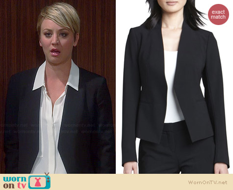 Theory Lanai Blazer worn by Kaley Cuoco on The Big Bang Theory