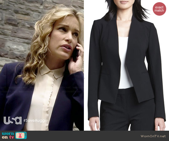 Theory Lanai Blazer worn by Piper Perabo on Covert Affairs