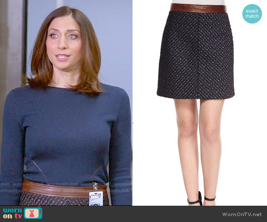 Theory Lanitta Skirt worn by Chelsea Peretti on Brooklyn Nine-Nine